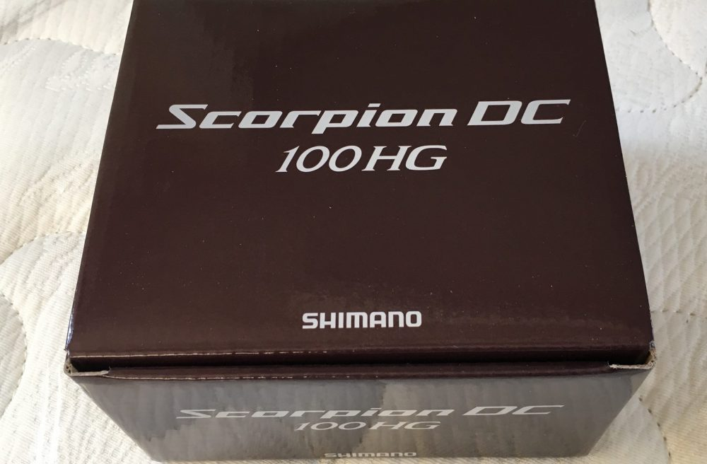 SHIMANO(シマノ) リール 17 スコーピオン DC 100HG レビュー 使ってみた感想