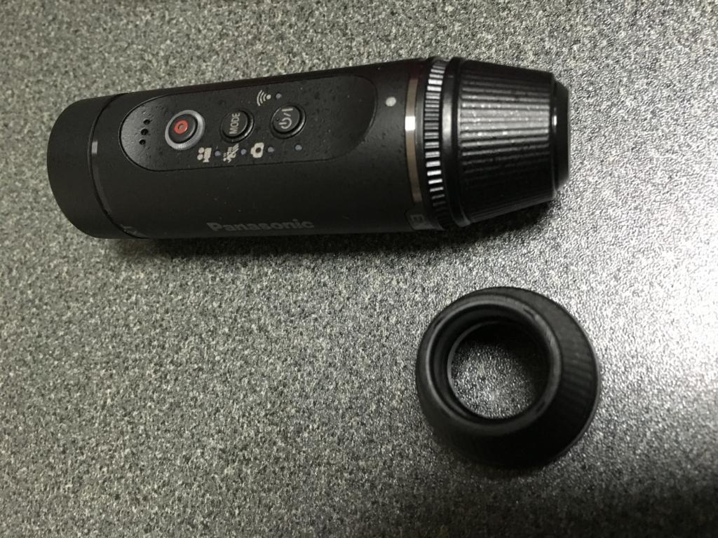 【ウェアラブルカメラ HX-A1H 感想・レビュー】 軽くて持ち運びに便利なアクションカム Panasonic