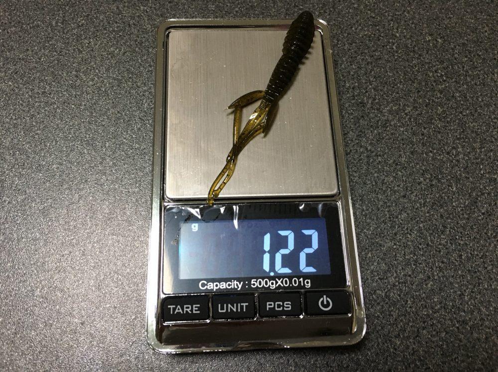 【エバーグリーン C-4シュリンプ2.8インチの重量 】おすすめのリグや使い方