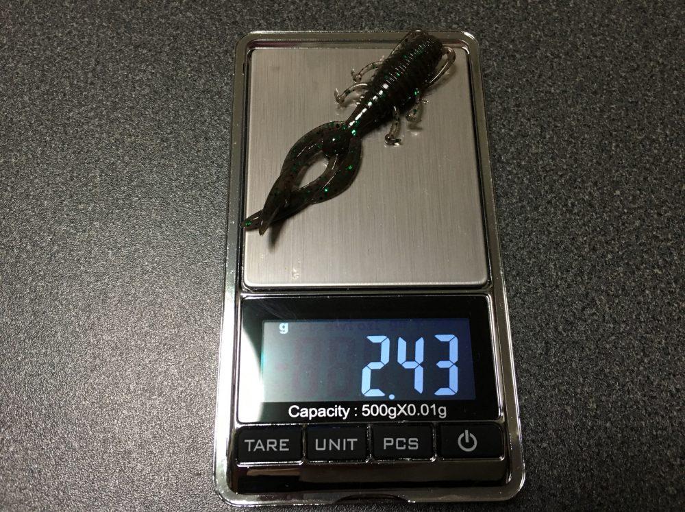 エバーグリーン アントライオン(ワーム・ルアー)の重量 おすすめのリグや使い方
