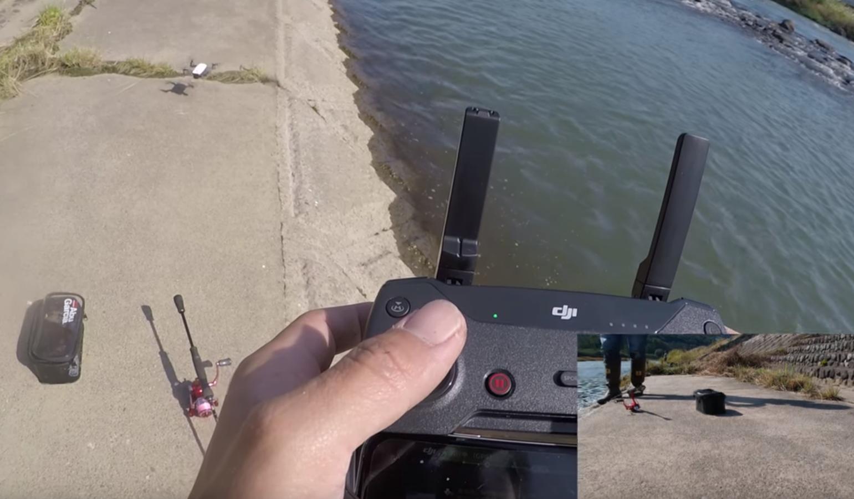【川スモール】ドローン撮影中に気づいたら、デカバスが釣れていた!