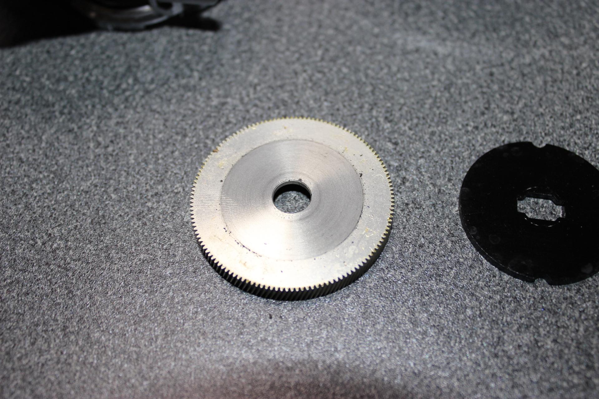 15 メタニウムDC ボールベアリング 交換 オーバーホール