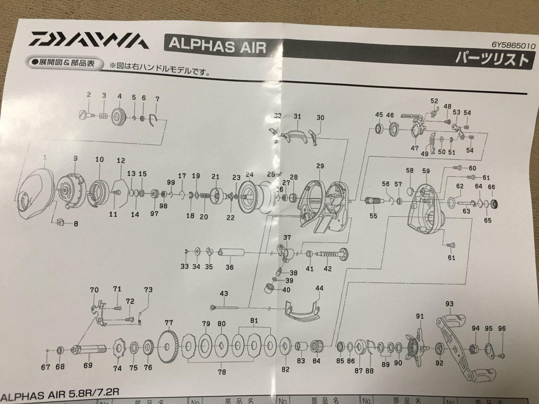 【ダイワ アルファスエア インプレ】SS AIRと比較レビュー!